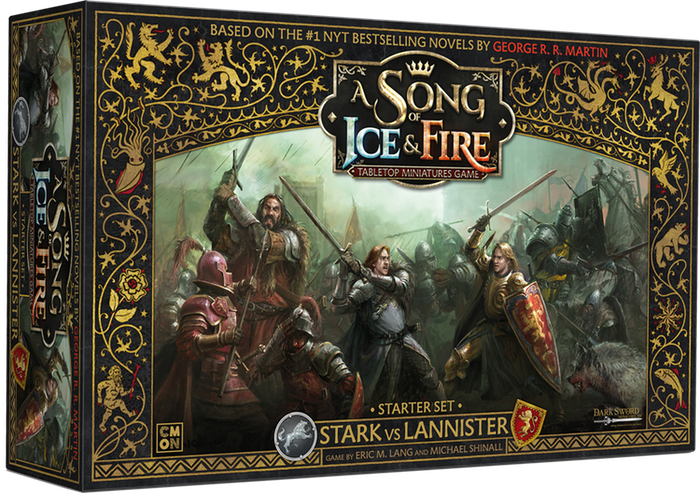 "Test du jeu de figurines ""A Song of Fire and Ice"" dans l'univers de Game of Thrones."