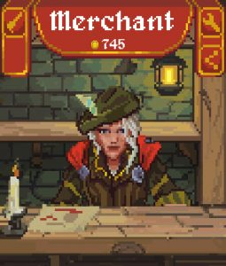 Merchant jeu mobile RPG